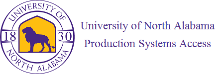 UNA Production Systems Sign In Page